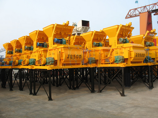 concrete mixers types of concrete A concrete mixer (often mistakenly called a cement mixer) is a device that homogeneously combines cement, aggregate such as sand or gravel, and water to form concrete.
