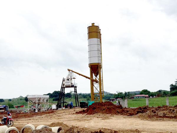 mini concrete plant for sale
