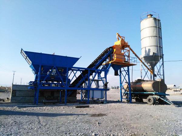 mini concrete batching plant sale